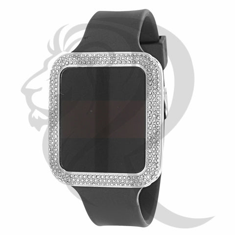 39MM IcedOut Bezel Touch Screen Watch