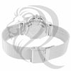 All White Tone 38MM Mesh Band Milano Watch