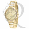 34MM Plain Yellow Gold Gino Milano Watch