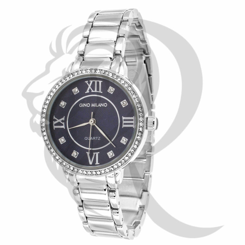 Black Dial 34MM Icedout Bezel Watch