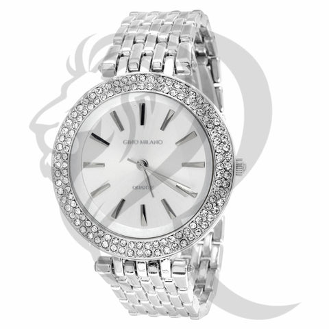 40MM IcedOut Bezel Watch