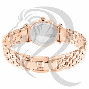 33MM Rose Gold Gino Milano Watch