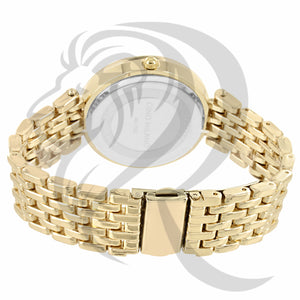 Black & Yellow Gold Gino Milano Watch