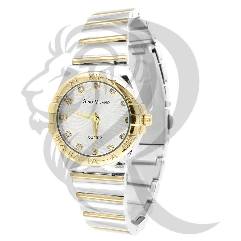 Two-Tone 30MM Dial Women's Milano Watch