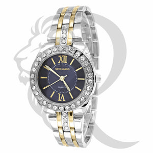 34MM 2 Tone Gino Milano Watch
