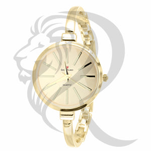 32MM Plain Yellow Gino Milano Watch