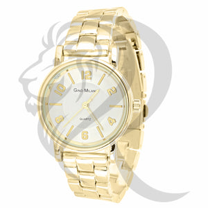 Plain Yellow 32MM Ladies Gino Milano Watch