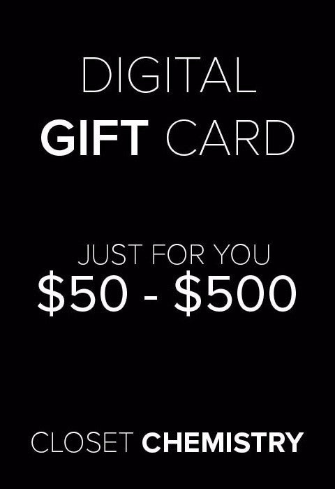 Closet Chemistry digital gift card