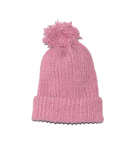 The RIbbed Pom Pom Beanie