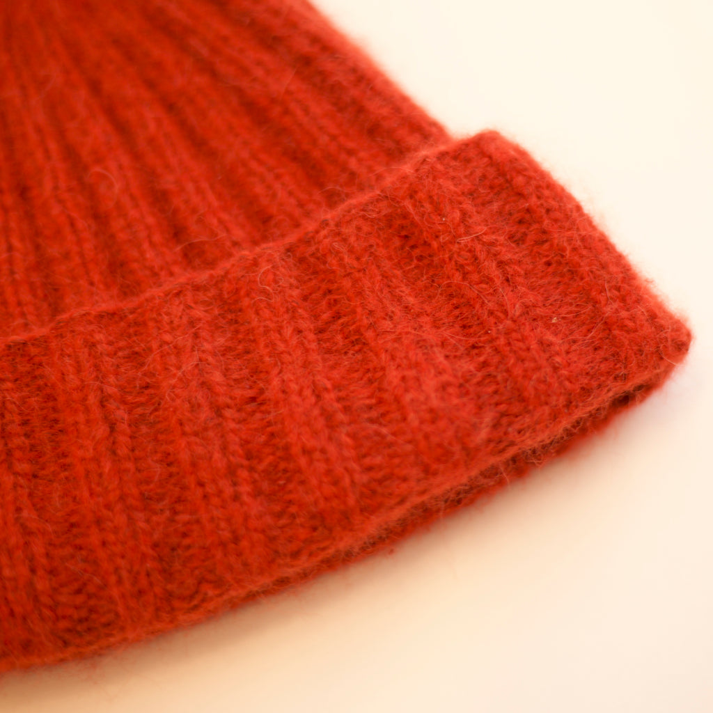 The Two By Two Mini Ribbed Beanie
