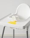 ANTILOP Highchair with tray, silver-colour white, silver-colour - Online Shop Buy Now