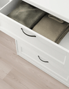 SONGESAND Chest of 4 drawers, white  82x104 cm - Online Shop Buy Now