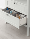 SUNDVIK Changing table/chest of drawers, white - Online Shop Buy Now