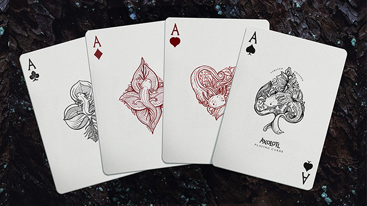 Axolotl Playing Cards by Enigma Cards - Merchant of Magic