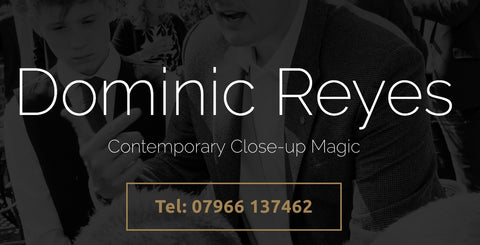 Magician Booking Part Payment - Dominic Reyes