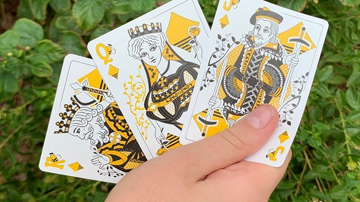 Bicycle Beekeeper Playing Cards (Dark) - Merchant of Magic