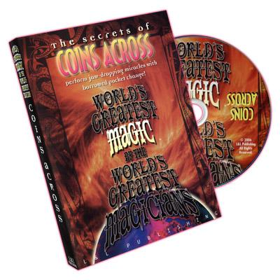 Coins Across (Worlds Greatest Magic) - DVD - Merchant of Magic