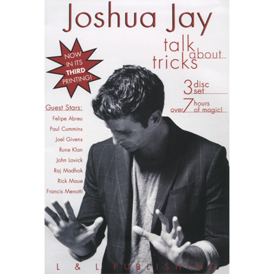 Talk About Tricks (Vol 1 thru 3) by Joshua Jay video - INSTANT DOWNLOAD