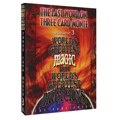 The Last Word on Three Card Monte Vol. 3 (World's Greatest Magic) by L&L Publishing video - INSTANT DOWNLOAD