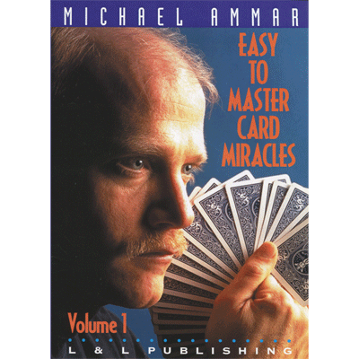Easy to Master Card Miracles Volume 1 by Michael Ammar video - INSTANT DOWNLOAD - Merchant of Magic