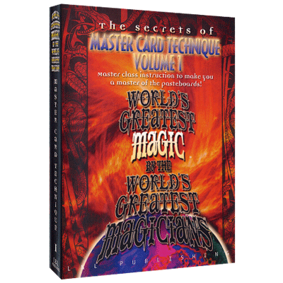 Master Card Technique Vol 1 - Worlds Greatest Magic - INSTANT DOWNLOAD
