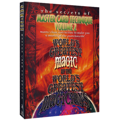 Master Card Technique Volume 2 - Worlds Greatest Magic - INSTANT DOWNLOAD