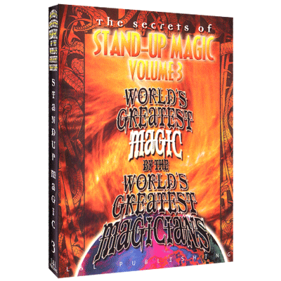 Stand-Up Magic - Volume 3 - Worlds Greatest Magic - INSTANT DOWNLOAD - Merchant of Magic