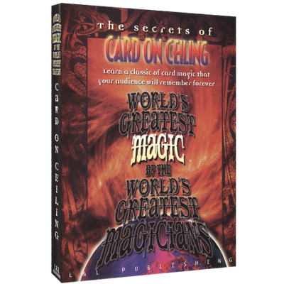 Card On Ceiling - Worlds Greatest Magic - INSTANT DOWNLOAD