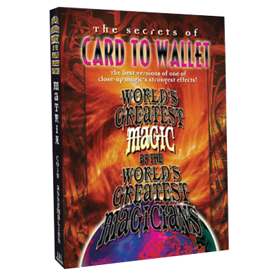 Card To Wallet - Worlds Greatest Magic - INSTANT DOWNLOAD - Merchant of Magic