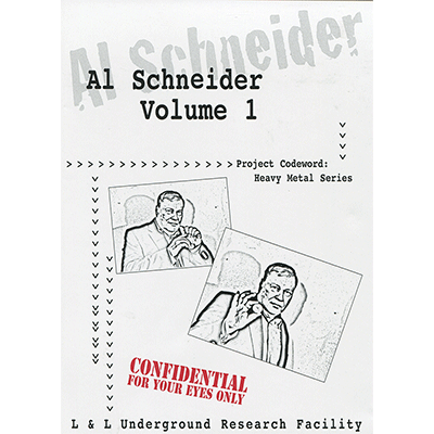 Al Schneider Heavy Metal Series by L&L Publishing video - INSTANT DOWNLOAD