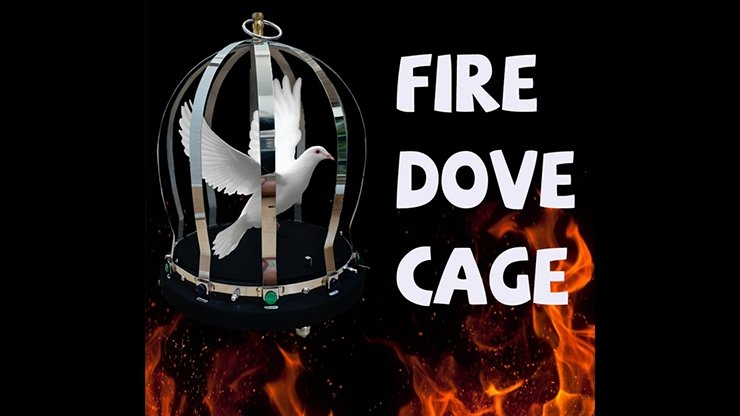 FIRE CAGE (1 Time) by 7 MAGIC - Merchant of Magic