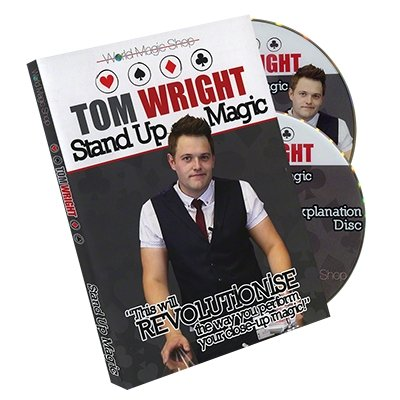 Standup Magic (2 DVD) by Tom Wright and World Magic Shop - DVD - Merchant of Magic