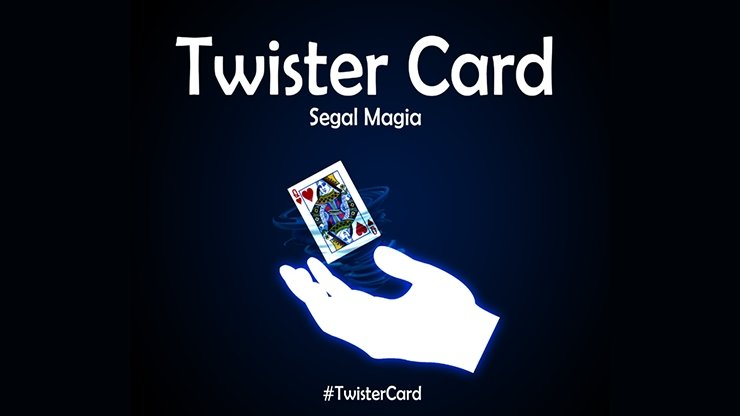 Twister Card by Segal Magia - INSTANT DOWNLOAD - Merchant of Magic