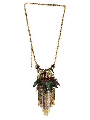Bloggers-Favorites Cheffy feather necklace