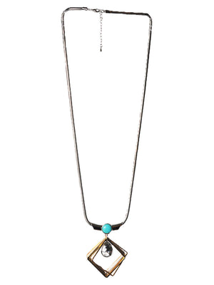 BloggersFavorites Tinkel Square Long Necklace