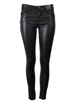 Bloggers Favorites - Heather imitation leather Jeans Kate