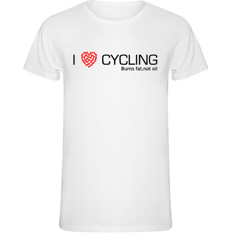 Camiseta I Love Cycling