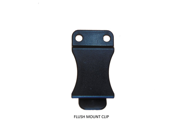 "Flush Mount Belt Clip 1.5"" OR 1.75"" w/hardware"