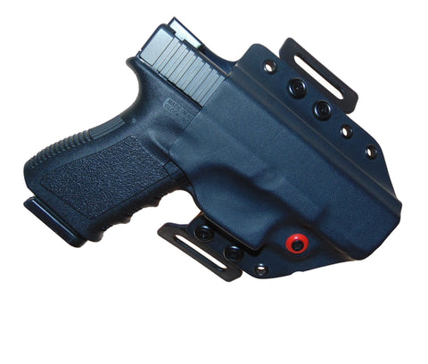 Diamond Back OWB Two Tone Contoured Holsters