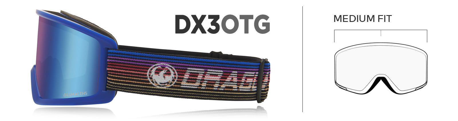 Dragon DX3 OTG Goggles