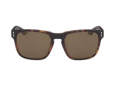 MONARCH - Matte Tortoise ; with Polarized Lumalens Brown Lens