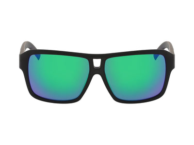 THE JAM - Matte Black H2O ; with Polarized Lumalens Green Ionized Lens
