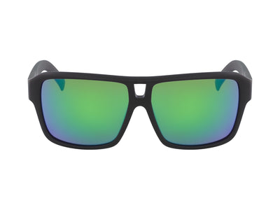 THE JAM - Matte Black with Lumalens Green Ionized Lens