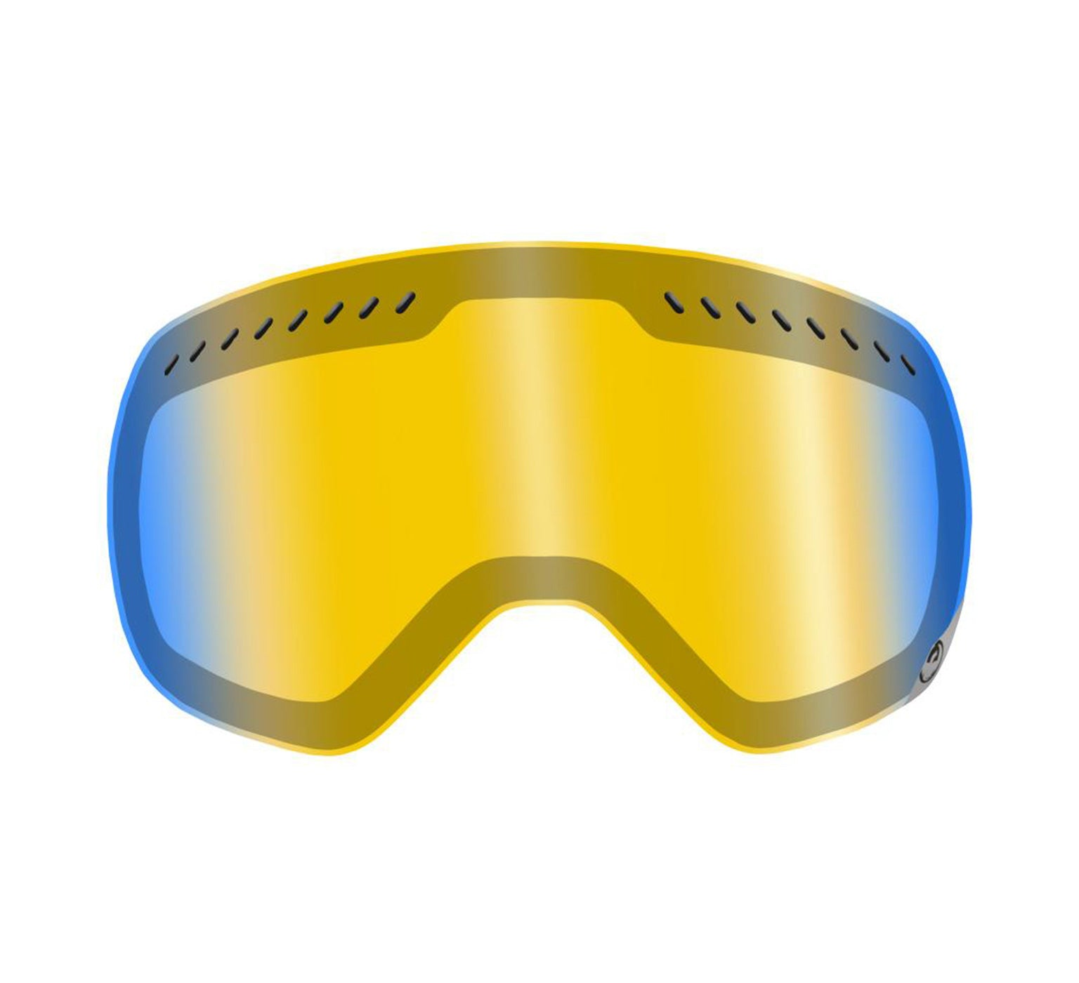 APXs Replacement Lens ; Yellow Blue Ionized (Classic)