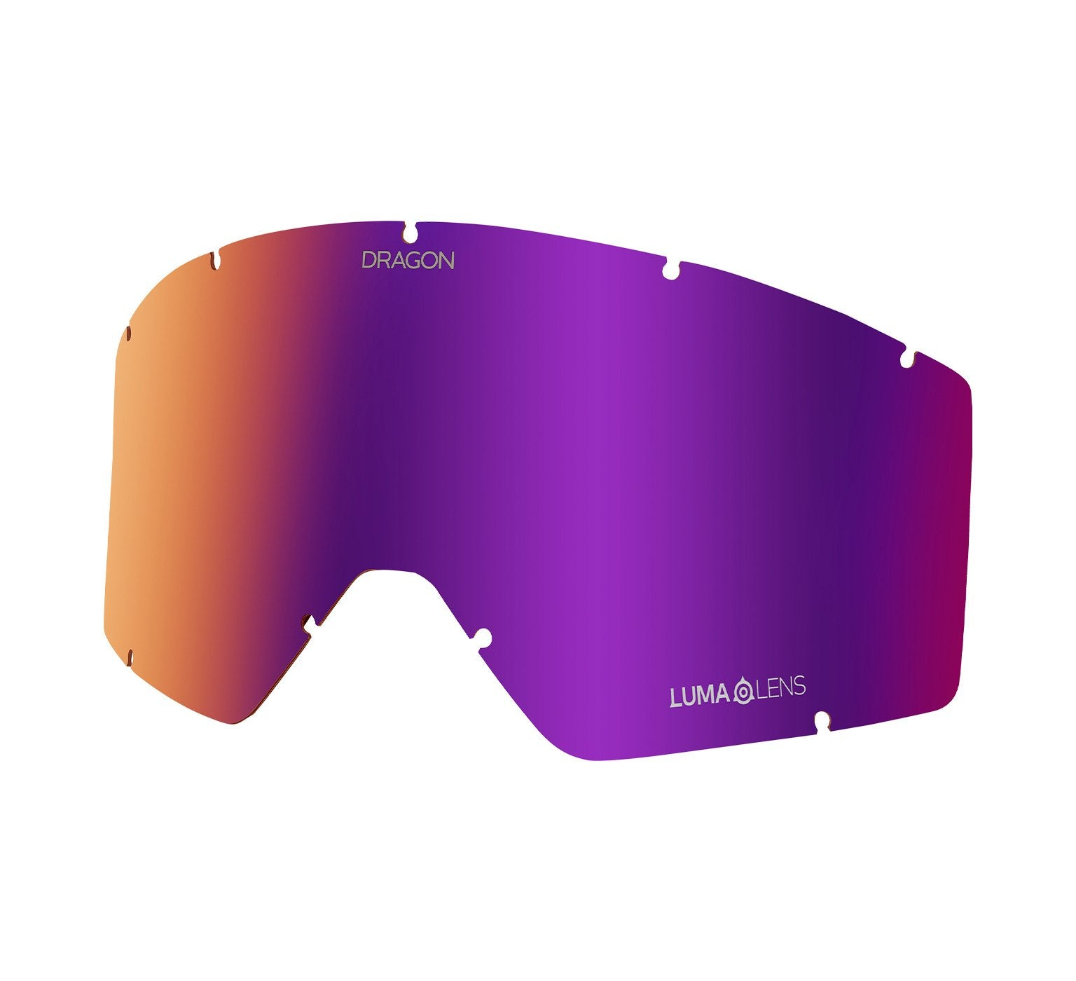DX3 Replacement Lens ; Lumalens Purple Ionized