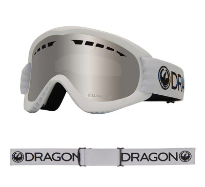DXs - White ; with Lumalens Silver Ionized Lens