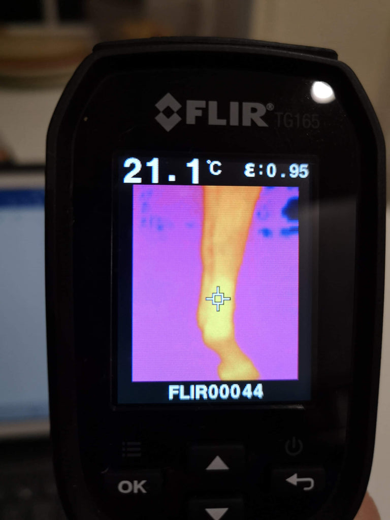 Evidence to Show Bandages and Insulating Boots Accelerate Speed of Warming Leg Temperatures
