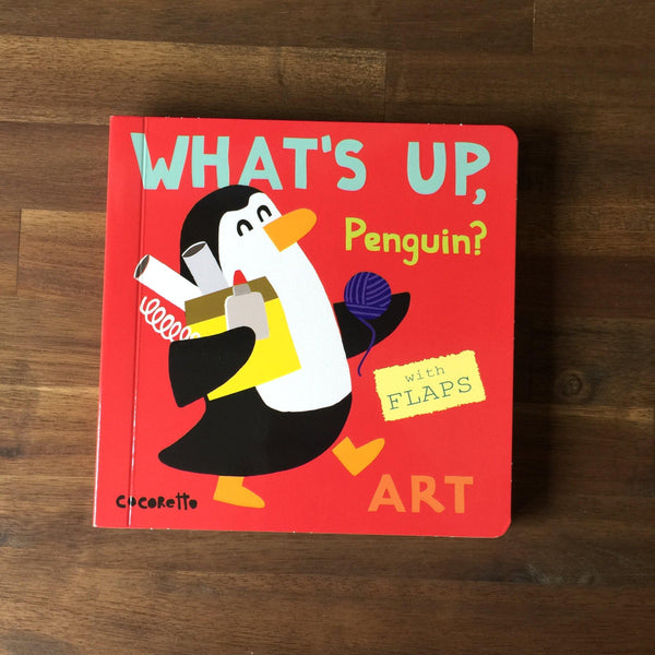 What's Up Penguin? Art