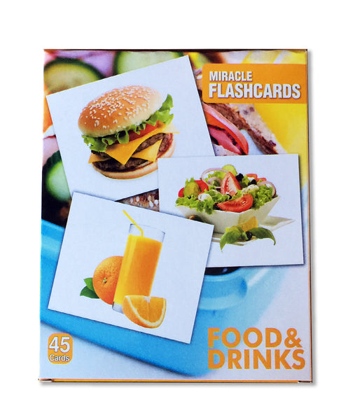 food and drinks ingilizce flash kartlar