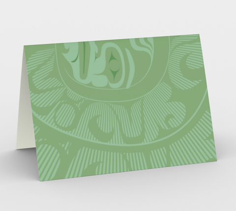 Piercing sun card - Appeal Apparel